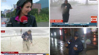 Deze reporters gaan door weer en wind om verslag uit te brengen van orkanen