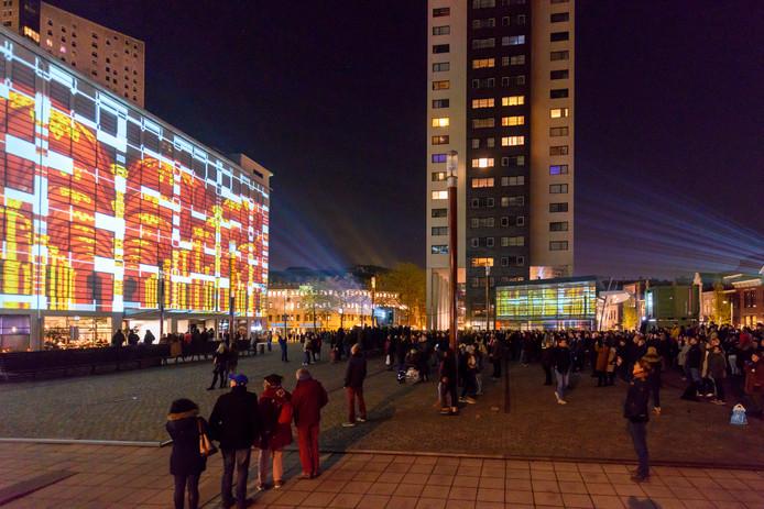 770.000 bezoekers konden zich vergapen aan lichtkunst bij Glow in Eindhoven.