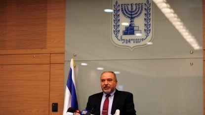 """Israëlische minister van Defensie Lieberman neemt ontslag, partij stapt uit regering: """"Israël capituleert voor terrorisme"""""""