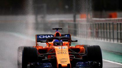 Winterprik in Barcelona: alleen Fernando Alonso klokt door sneeuw geldige chrono