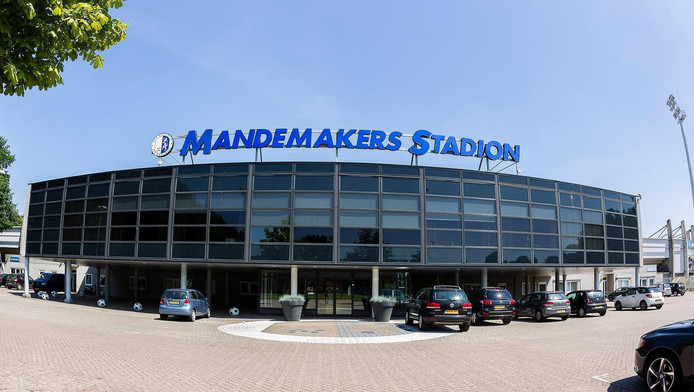 Het stadion van RKC.