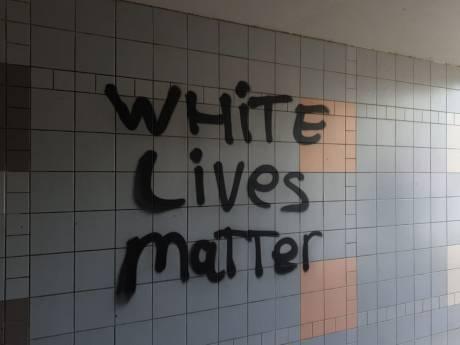 Weer racistische leuzen op de muur in Gouda