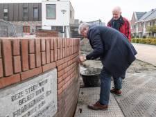 Eerste stenen 'plod'nfebriek' vinden weg terug naar gedenkwaardige plek in Haaksbergen