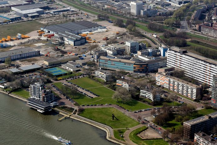 Het Unileverterrein moet de komende jaren veranderen in een levendige stadswijk met de naam District U.
