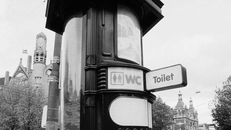 Openbaar toilet bij het Leidseplein Beeld Hisham Ibrahim/Getty Images