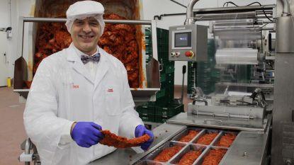 Elke week 80.000 kilo gehakt, 6.000 kilo vol-au-vent, 15.000 kilo ribbetjes en 5.000 kilo puree: Meat&More blijft groeien