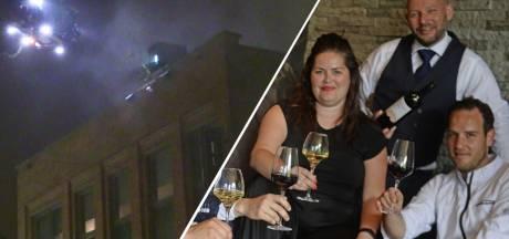 Verslagenheid bij Enschedese wijnbar Bruut na brand: 'Lijkt ons niet gegund'