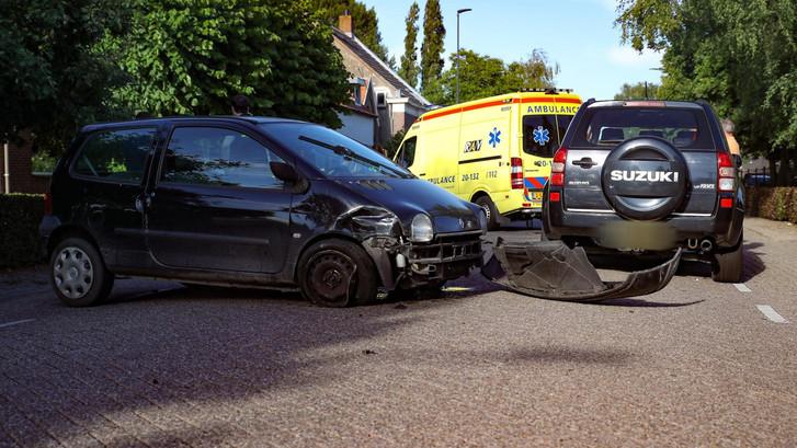 Drie voertuigen betrokken bij ongeval Oosteind