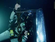 Legendarische en zeldzame zeeslang gefilmd