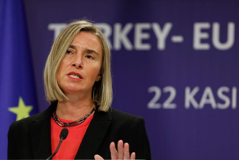 EU-buitenlandvertegenwoordiger Federica Mogherini