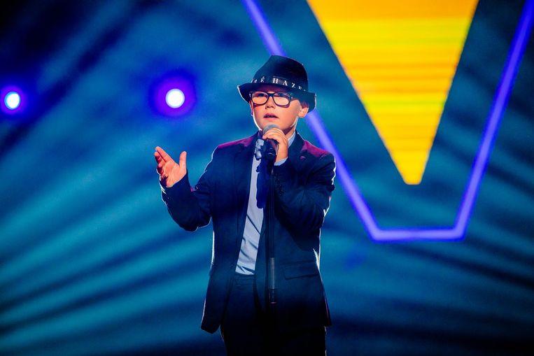 Kylan (9) is de jongste deelnemer van The Voice Kids en zingt een liedje van André Hazes Jr.