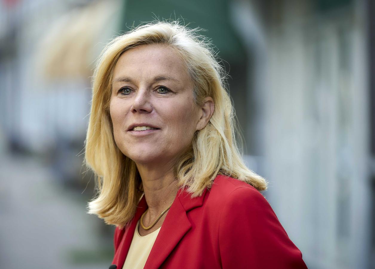 Minister Sigrid Kaag (Buitenlandse Handel en Ontwikkelingssamenwerking).