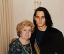 Met een zeer jonge Johnny Depp.