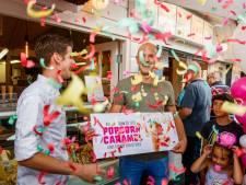 Kerwin wint (pr)ijsvraag in Ommen met zijn popcorn-caramel-smaak