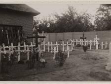 11 oktober 1944: Mensen in Baarle-Nassau zitten in de schuilkelders
