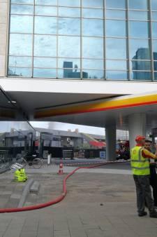 Brand bij Shell treft ook omwonenden