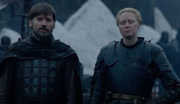 Jaime sluit zich aan bij Brienne.