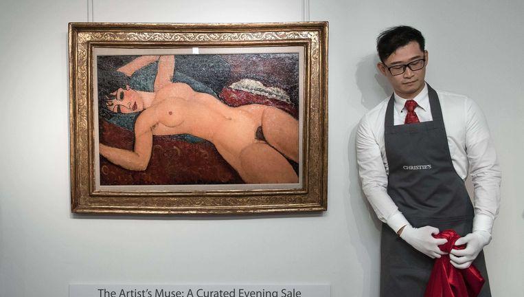 Modigliani bij Christie's Beeld afp
