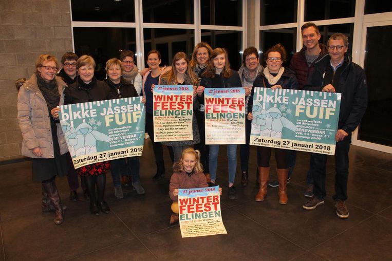 De organisatie van Winterfeest Elingen is klaar voor een spetterende editie.