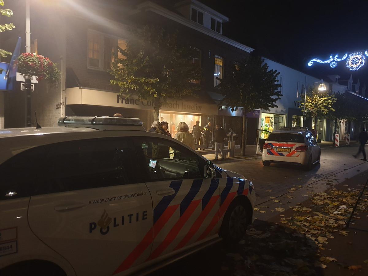 Overval op juwelier Grotestraat Waalwijk