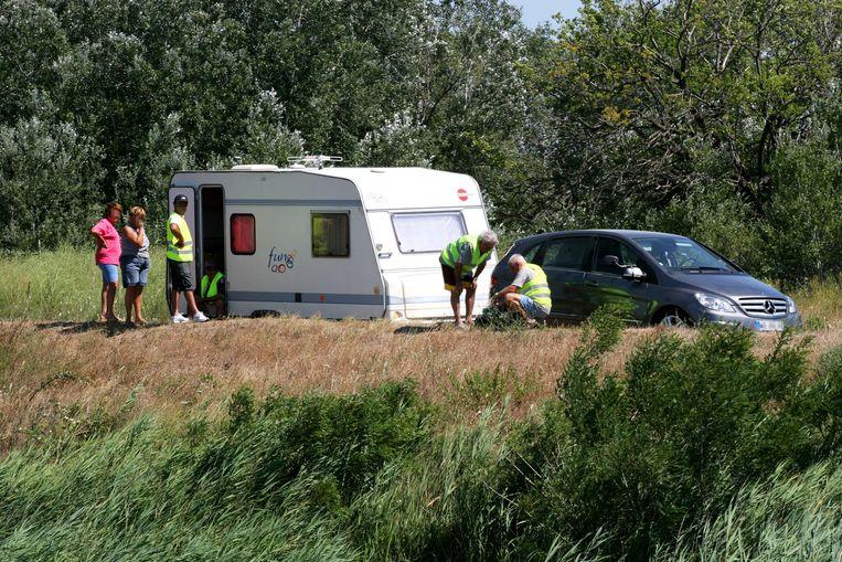 Wie met een caravan op reis gaat, kan soms dan weer wél een pechdienst gebruiken.