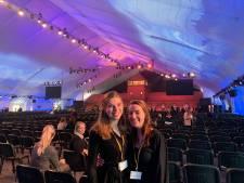 In de tent bij herdenking Auschwitz-bevrijding, een bijzondere ervaring voor studenten uit Vught en Haarsteeg