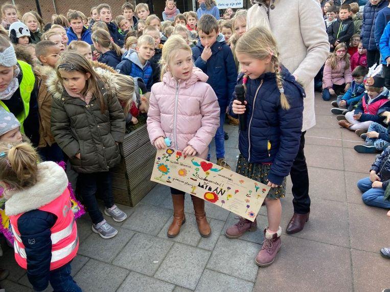 Dikkentruiendag draaide ook in gemeentelijke basisschool De Rekke om de bewustwording rond het belang van biodiversiteit voor het klimaat.