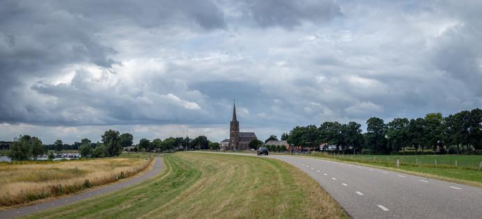 De Sint-Victorkerk in Batenburg.