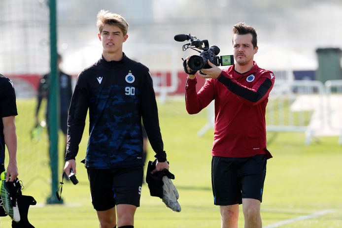 Charles De Ketelaere brak dit seizoen als jeugdspeler door bij Club Brugge.