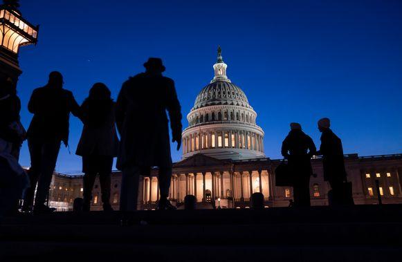 Het Amerikaanse Congresgebouw.