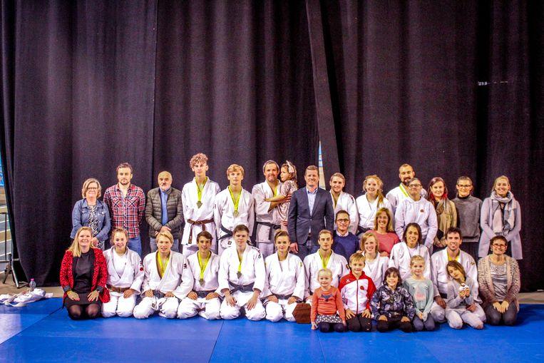 Herenploeg Ostend Judo Club kampioen interclub