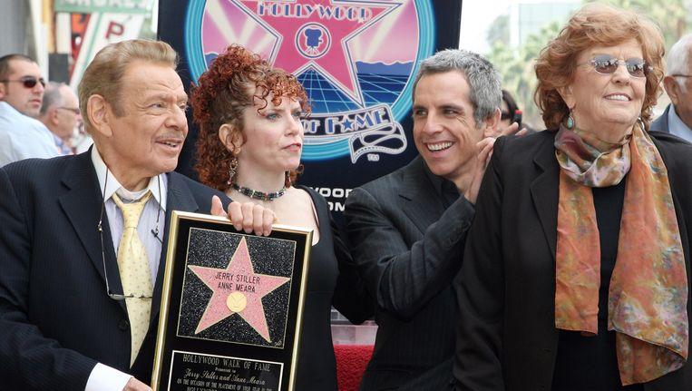 Moeder Ben Stiller Actrice Anne Meara 85 Overleden Celebrities