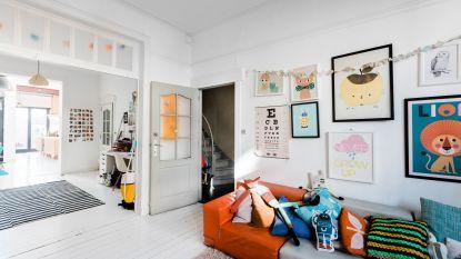 Neem een kijkje binnen in de stijlvolle gezinswoning van Anne