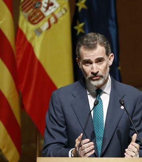 Le roi d'Espagne affiche son soutien aux juges catalans