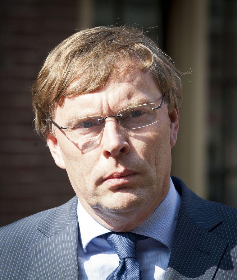 MHP-voorzitter Bob van der Wal. Beeld ANP