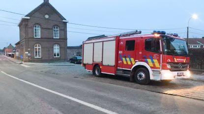 Even paniek na sissend geluid  in gascabine naast gemeenteschool