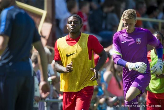 Ebecilio maakte zijn rentree voor FC Twente