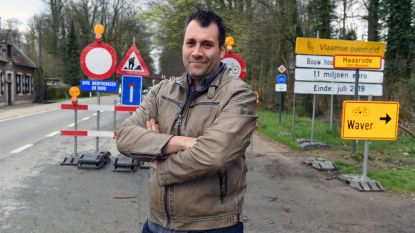 """Wegenwerken aan ecoduct treffen Blandense restauranthouder. Valduc net over taalgrens moet het met kwart minder stellen. """"Klanten blijven weg"""""""