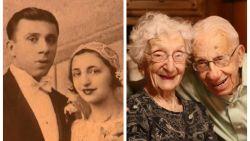 """""""Sommigen zeiden dat het niet lang zou duren, wij wisten wel beter"""": John (106) en Ann (102) zijn 85 jaar getrouwd"""