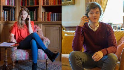 Al meer meer dan 300 rusthuisbewoners kregen telefoontje van prinses Elisabeth en haar broers en zus