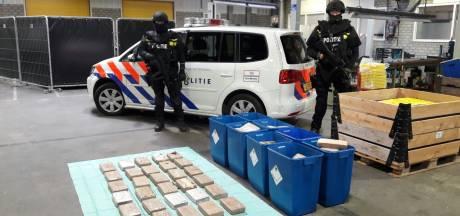 Verdachten megavondst cocaïne in Den Hoorn in september voor de rechter
