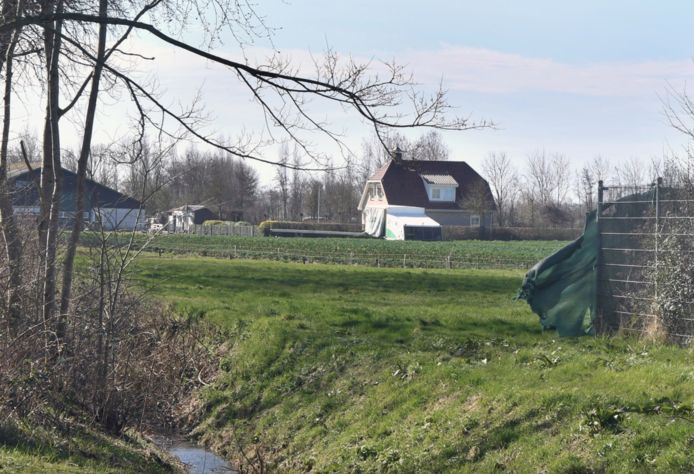 Bouwgrond naast korfbalveld Sint Laurens.