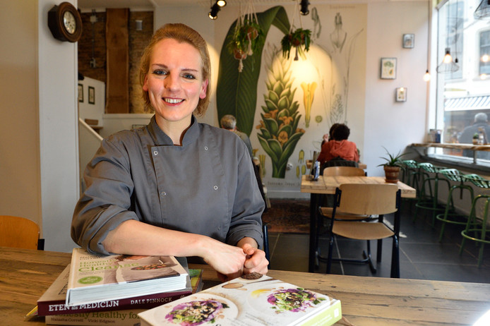Birgit Fijen is al meer dan een jaar open met het Goudse lunchcafé.