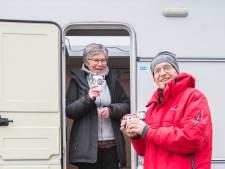 Mostert kampeert al 40 jaar verrukkelijk in de vrieskou