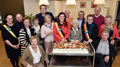 Cecile viert 100ste verjaardag