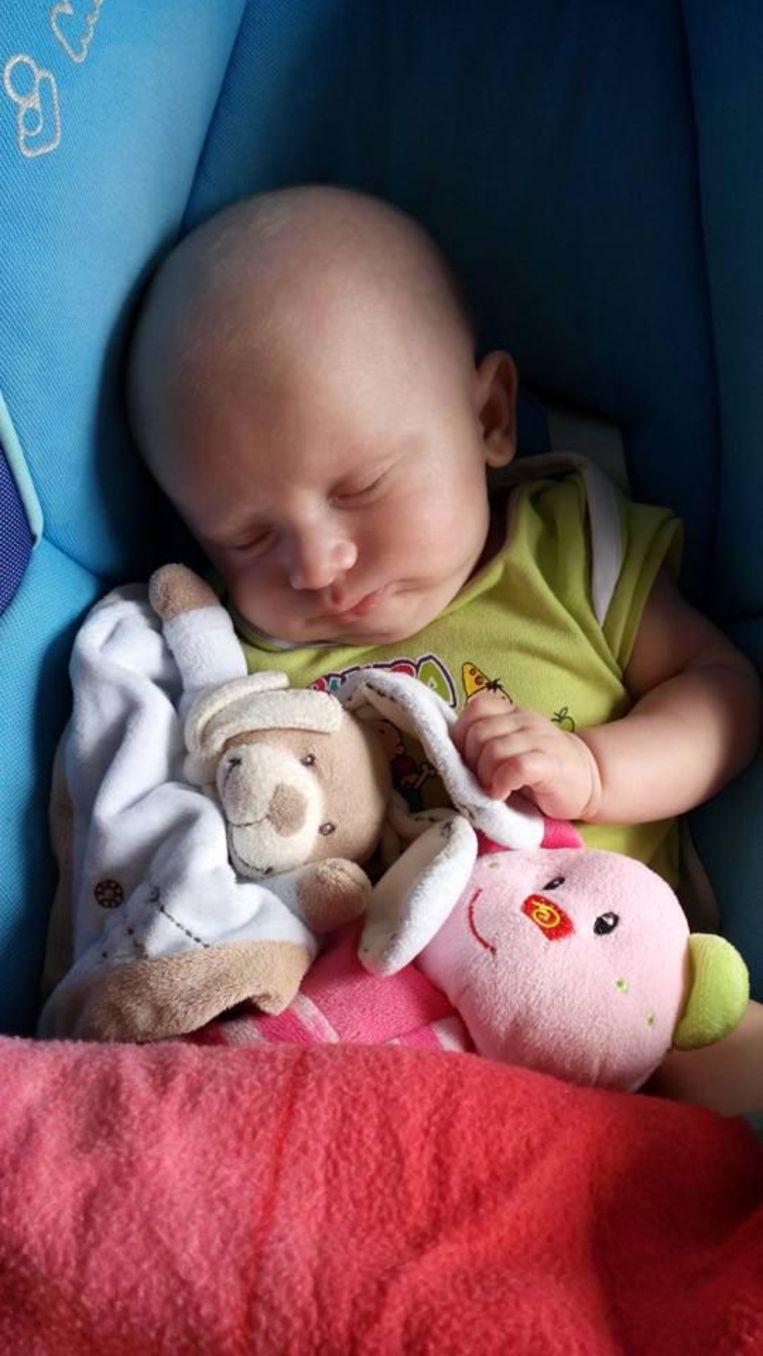De kleine Matheo was amper twaalf weken oud.