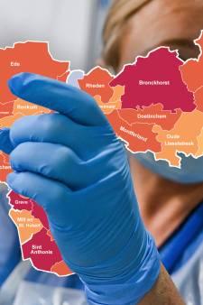 CORONAKAART   21 coronadoden in regio, vooral veel slachtoffers in Maas en Waal