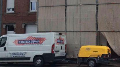 Bestelwageninbrekers slaan weer toe, in centrum van Ieper dit keer