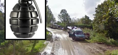 'Verdacht object' op openbare weg bij woonwagenkamp Tholen blijkt handgranaat