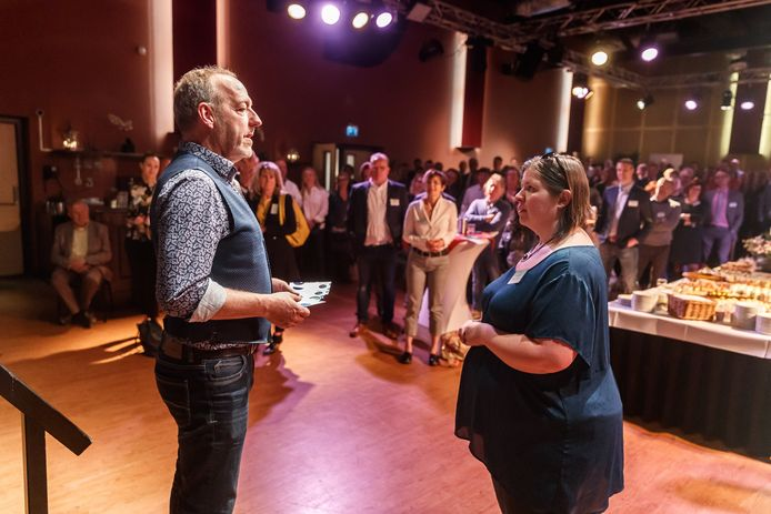 Acteur Harry Piekema was vorig jaar gastspreker in De Borgh.